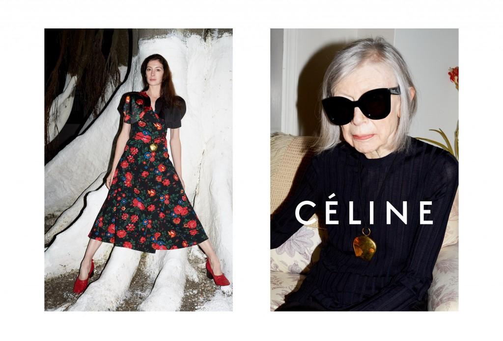 Céline-Summer-15-Campaign_Marie-Agnes-Gillot-Joan-Didion_2-1024x696