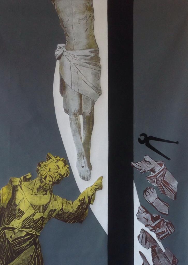 Рис.9, снятие с креста, фрагмент