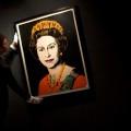Britain Bonhams Warhol Queen