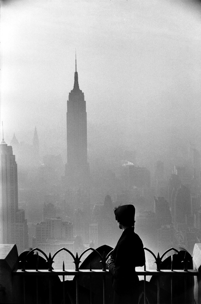 Empire State Building, New York (Elliott Erwitt, 1955)