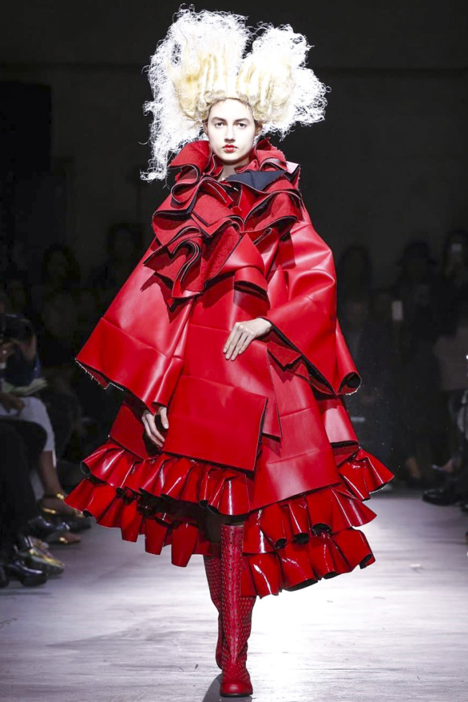 Comme des Garcons, Ready to Wear Spring Summer 2015 Collection in Paris