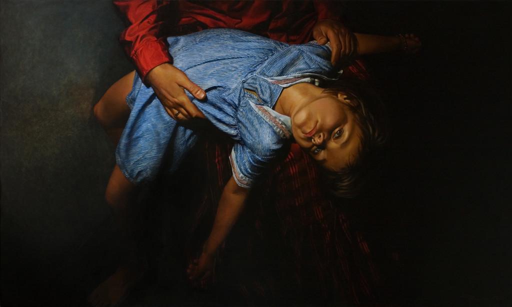 Евгений Равский, В заключение, из проекта Ecce Homies 2010, холст, масло, 120х200