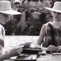 Vogue Italia November 2008 -Cottage in riva al mare- Katrina Thormann and Toni Garrn by Steven Meisel - 2