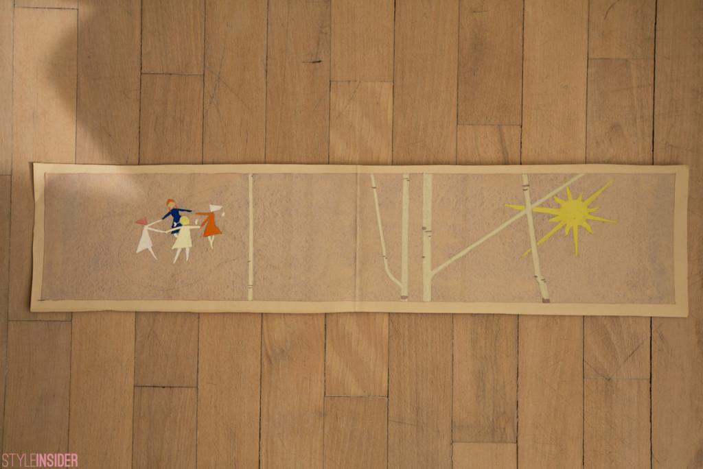 Н/Х эскиз мозаики, 1970-е гг. Анна Копылова.