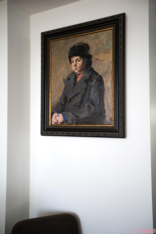 Коллекционер Анна Копылова. Н. Кравцов «Сережа» 1950-е гг. х/м