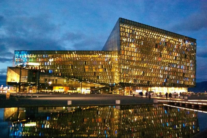 Harpa Building. Reykjavik