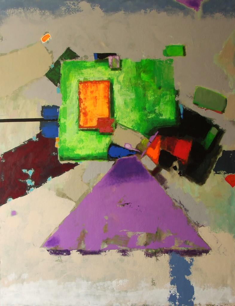Семен Щербина - Баланс 115х150,холст,акрил,2015