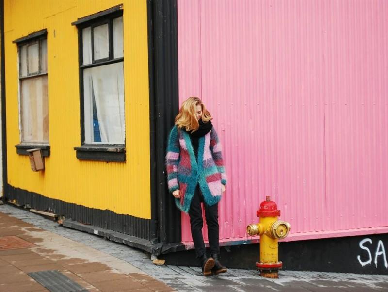 Wandering the streets of Reykjavik