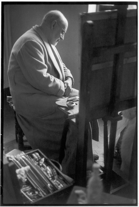 FRANCE. Nice. Cimiez district. February 1944. French painter Henri MATISSE.