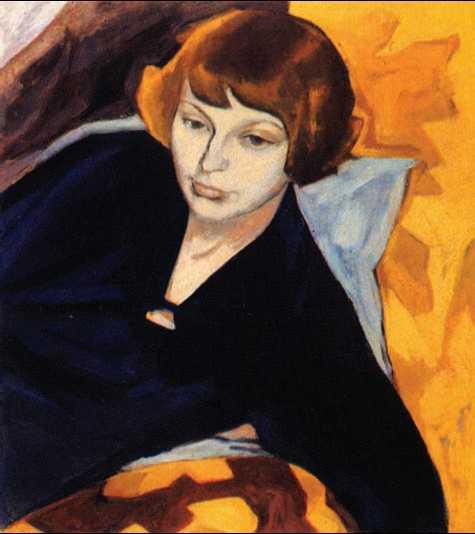 цветаева портрет работы нахмана