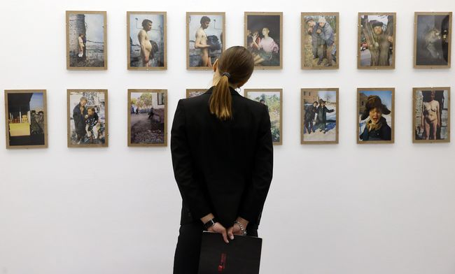Вид экспозиции в PinchukArtCenter, На грани, фото Артема Слипачука (1)