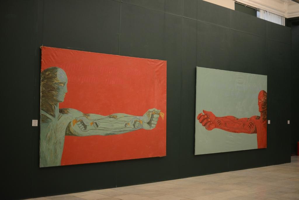 Вид экспозиции. НХМУ.2015 (2)