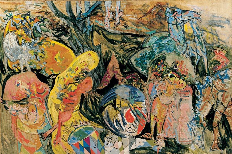 Рихард Мортенсен. Видение. Картина для Артюра Рембо (1944)