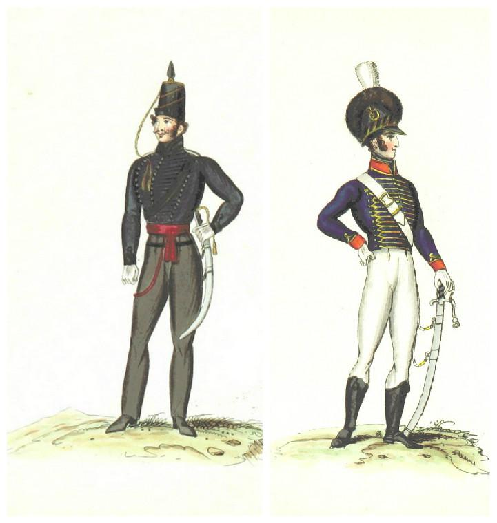 военный исторический костюм