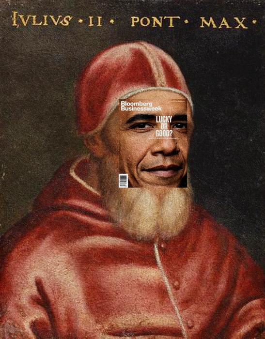 Барак Обама, Рафаэль