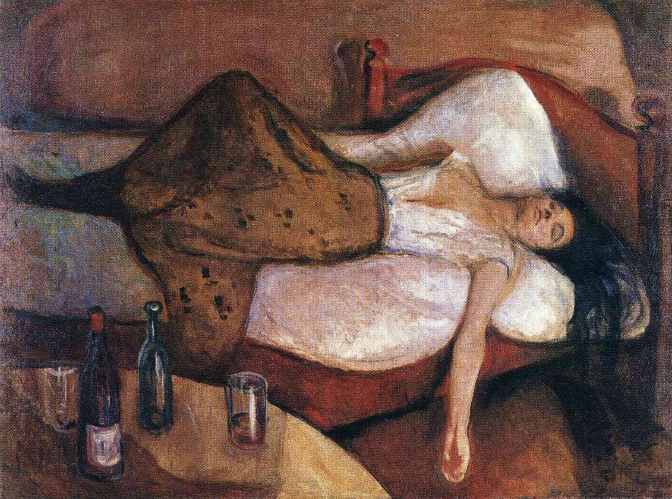 Эдвард Мунк, Следующий день, 1895