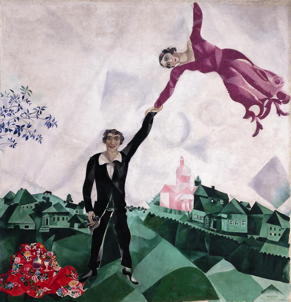 Марк Шалаг, Прогулка, 1917