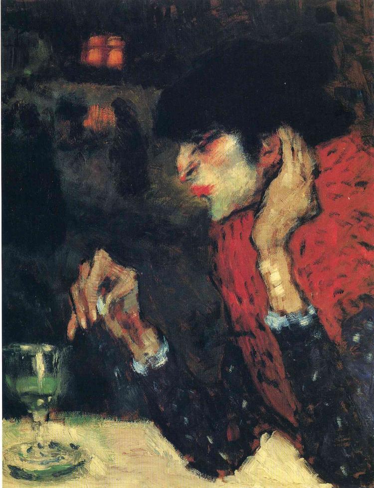 Пабло Пикассо, Любительница абсента, 1901