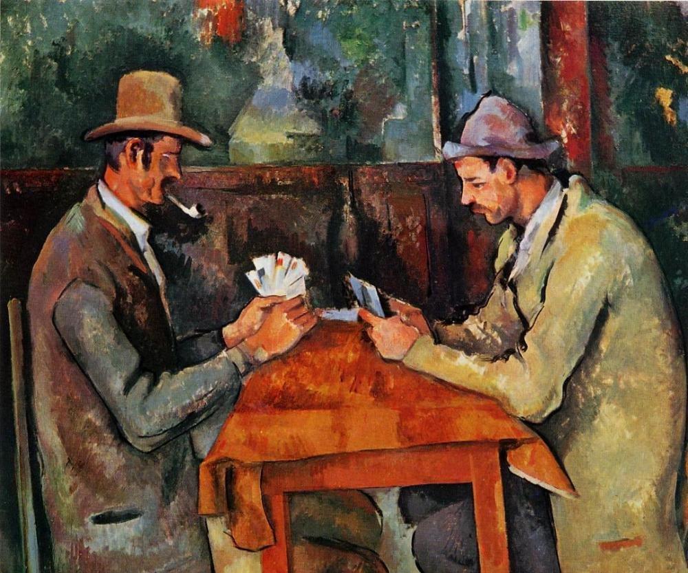 Поль Сезанн, Игроки в карты, 1894-1895