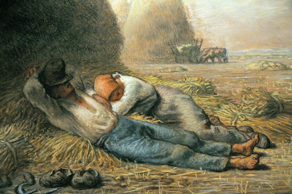 Милле, Жан-Франсуа, Полуденный отдых, 1866