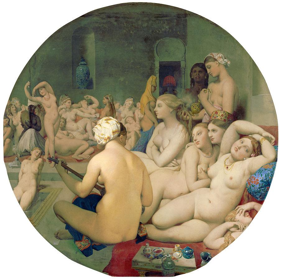 Жан Энгр, Турецкие бани, 1862