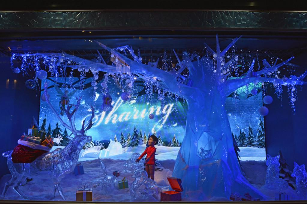 Рождество в Macy's