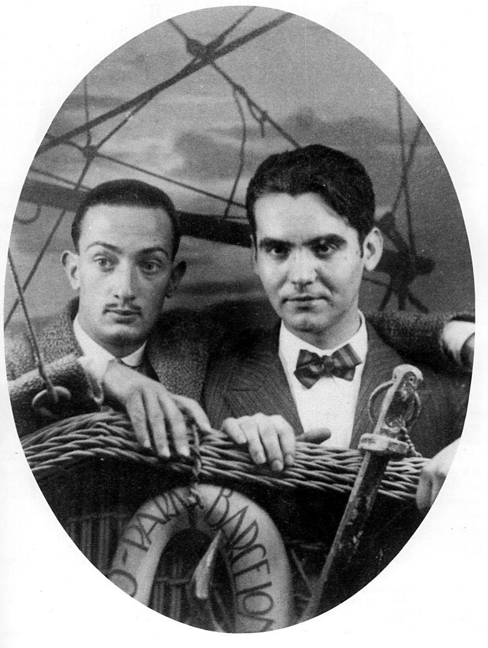 Гарсиа Лорка и Сальвадор Дали