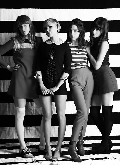 британская мода 60-х