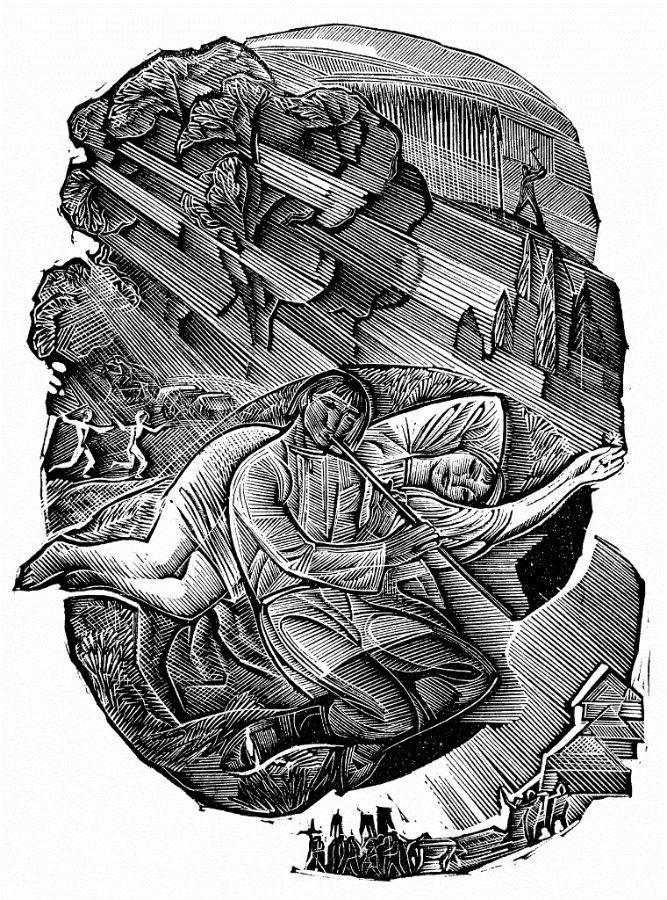"""иллюстрации к """"Тени забытых предков"""", худ. Георгий Якутович"""