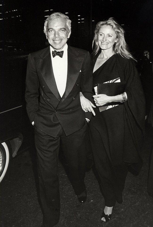 Ральф Лорен с женой Рики