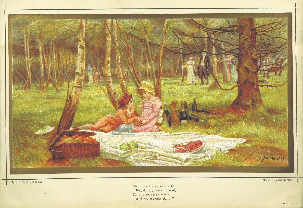 любовные открытки