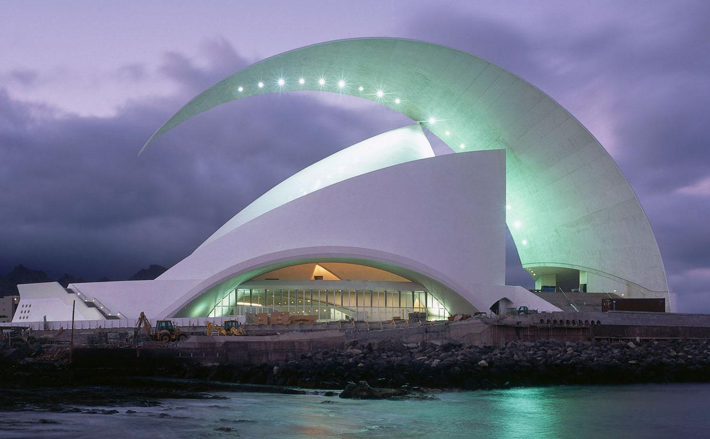 Концертный зал Аудиторио-де-Тенерифе