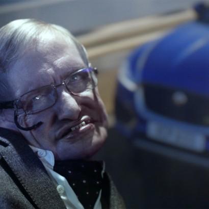 Стивен Хокинг снялся в рекламном ролике Jaguar