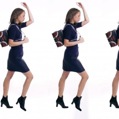 Алисия Викандер танцует твист в рекламе Louis Vuitton