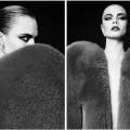 Кара Делевинь в новой рекламной кампании Saint Laurent