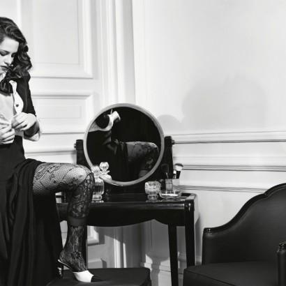 Кристен Стюарт в рекламной кампании Chanel