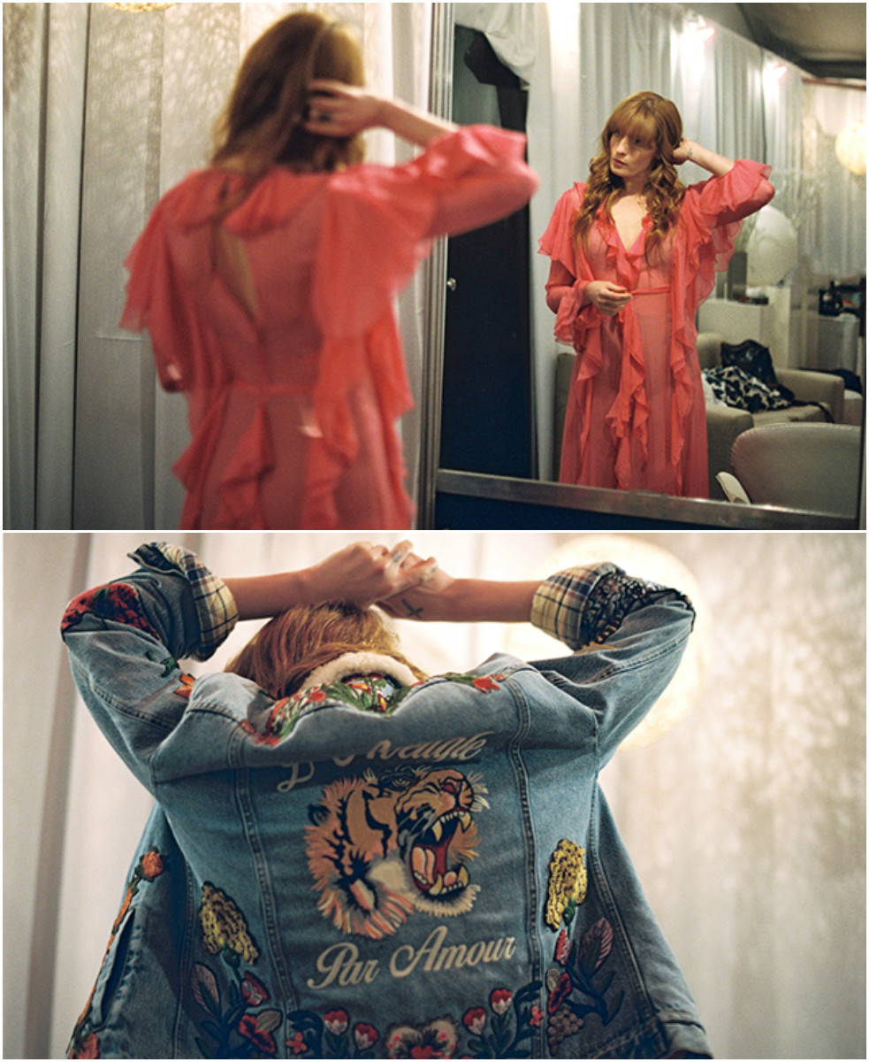 Gucci для тура Florence + The Machine