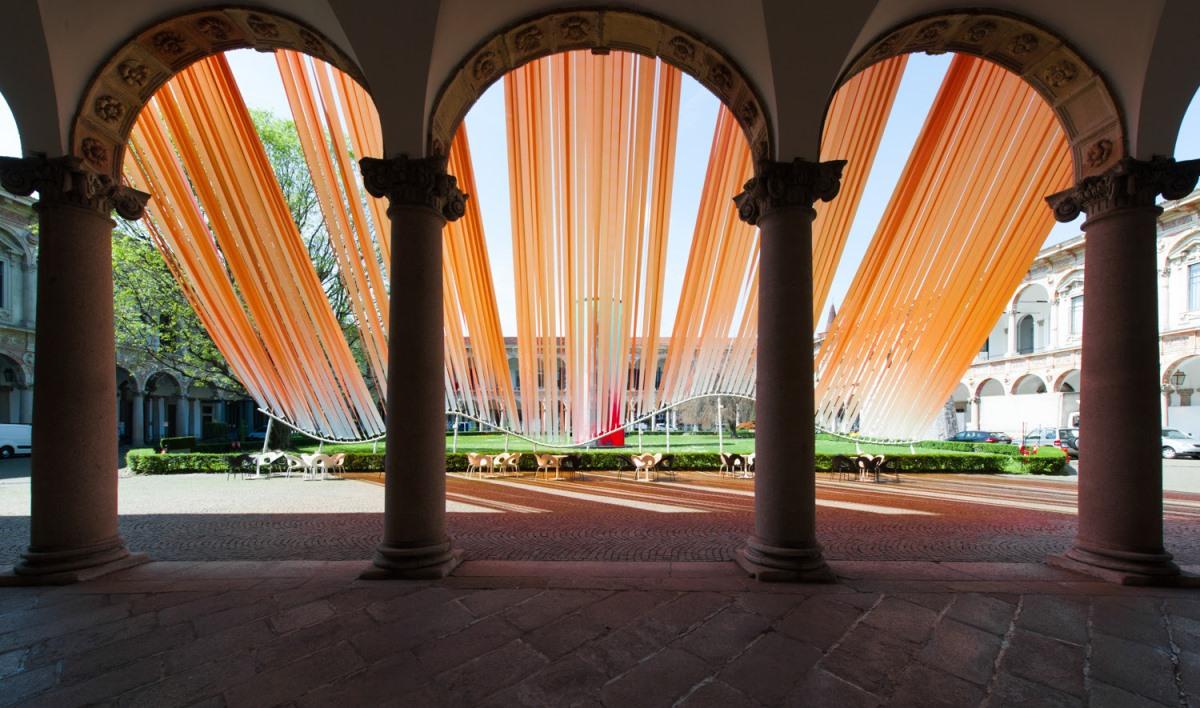 Инсталляция «Невидимая граница/Invisible border» от MAD Architects