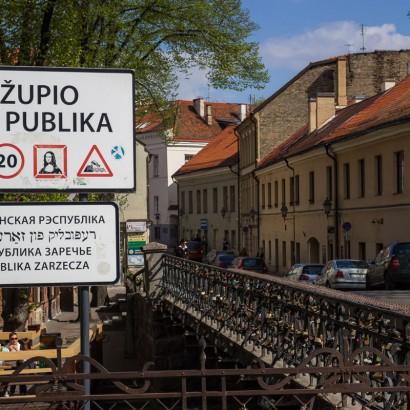 Республика Užupis, Литва
