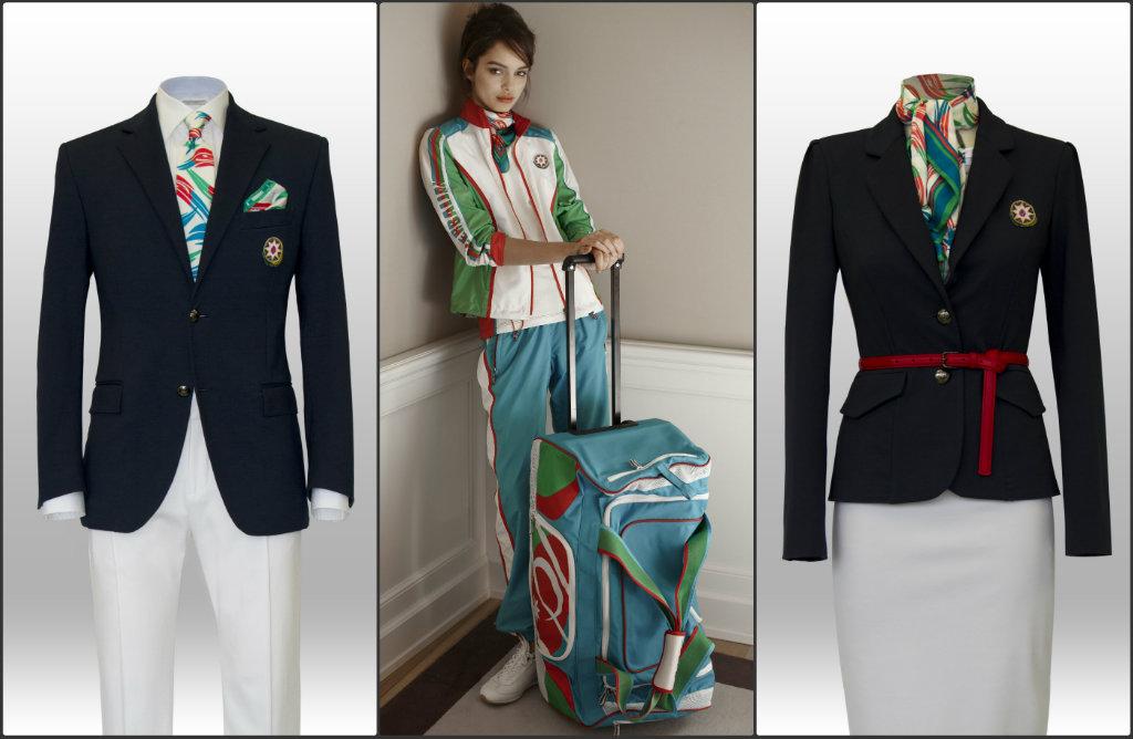 azerbaijan olympics uniform opening ceremony