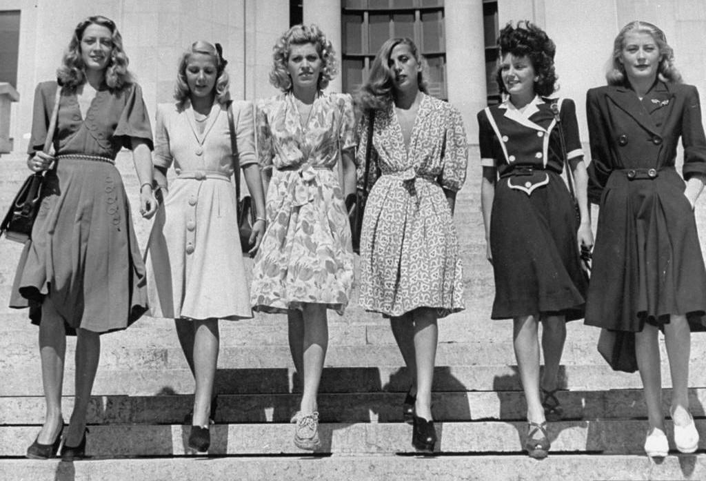 мода 40-х
