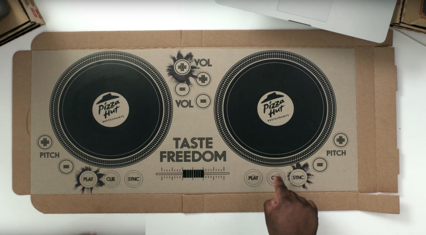 пицца DJ