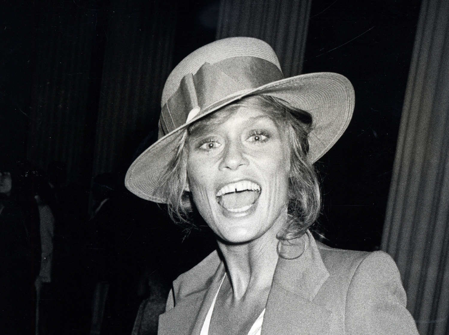 Lauren Hutton during Richard Avedon Opening at the Metropolitan Museum of Art - September 13, 1978 at Metropolitan Museum of Art in New York City, New York, United States. (Photo by Ron Galella/WireImage)