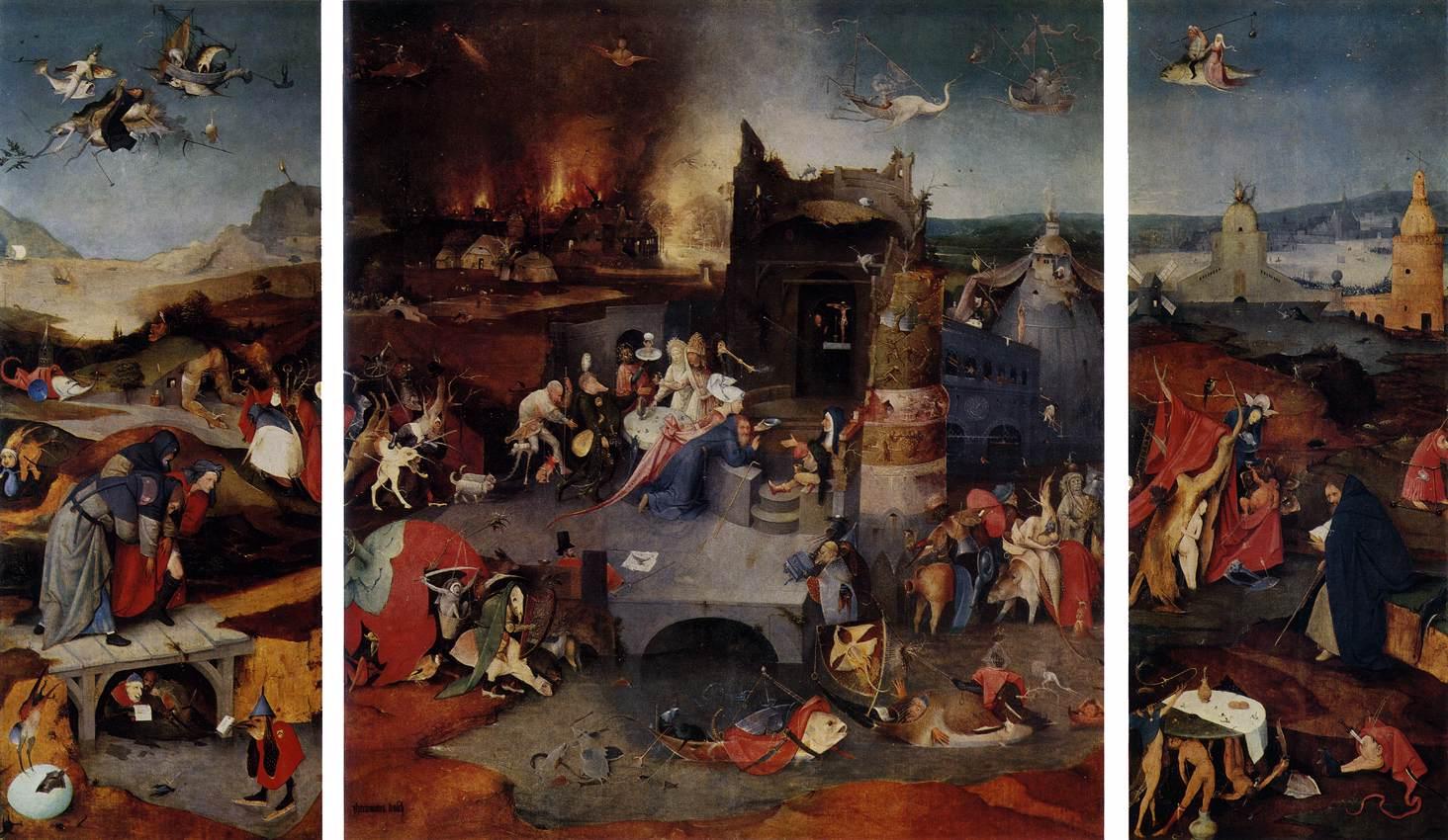 Иероним Босх (триптих)(1505-1506)
