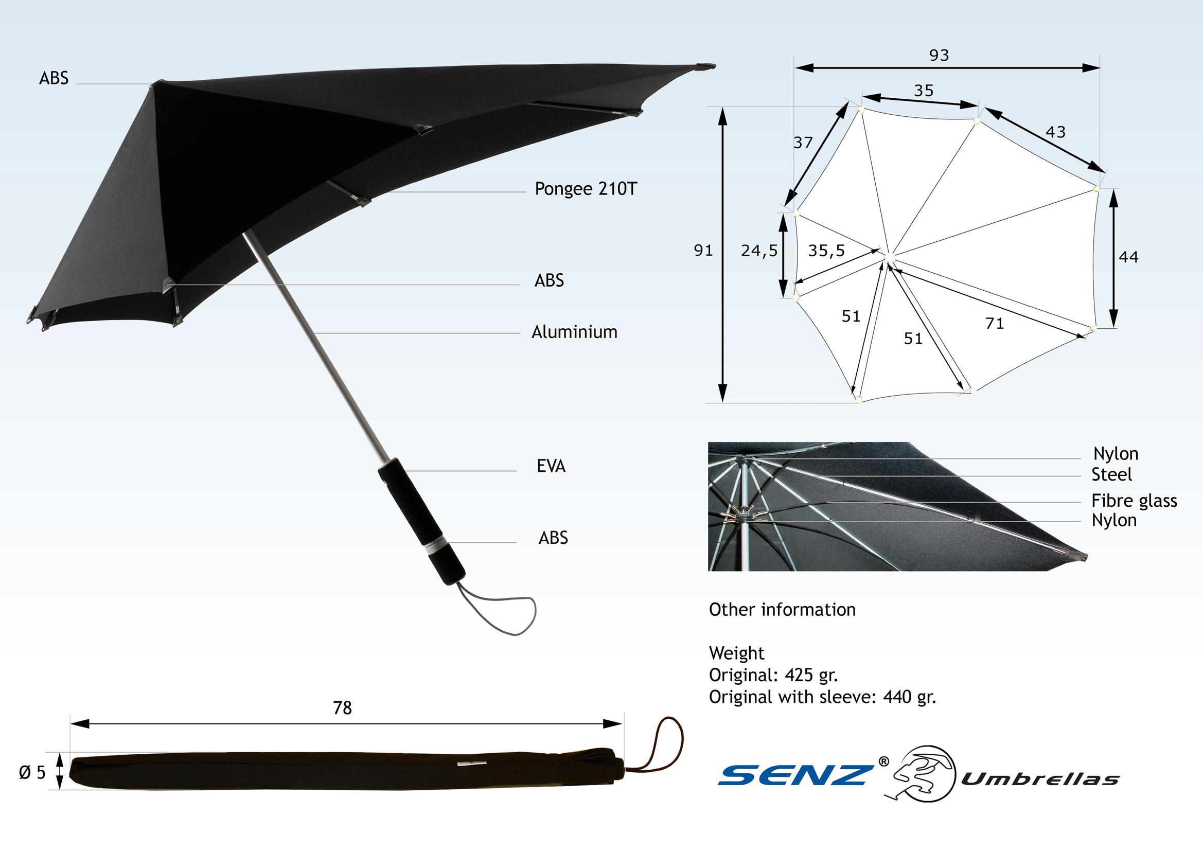 необычные зонты