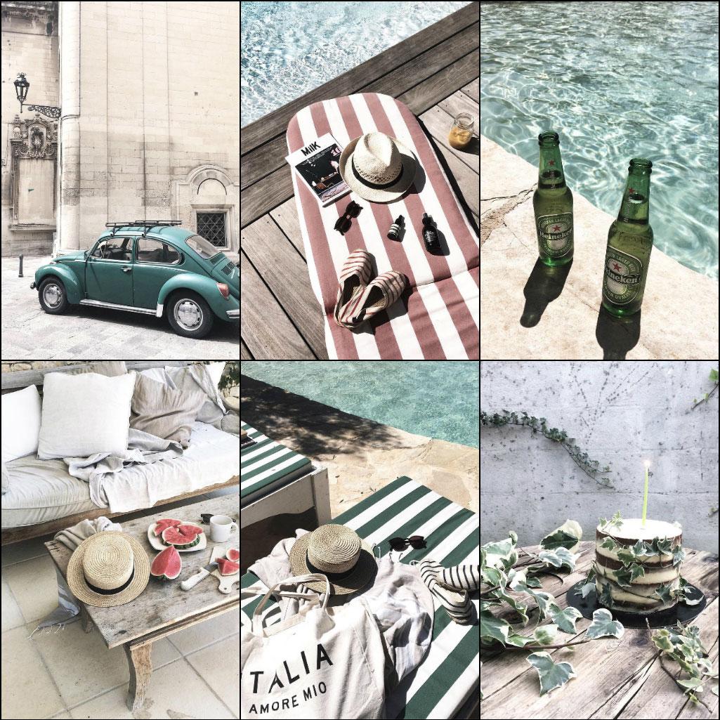 Instagram-аккаунтов Марины Батуринец