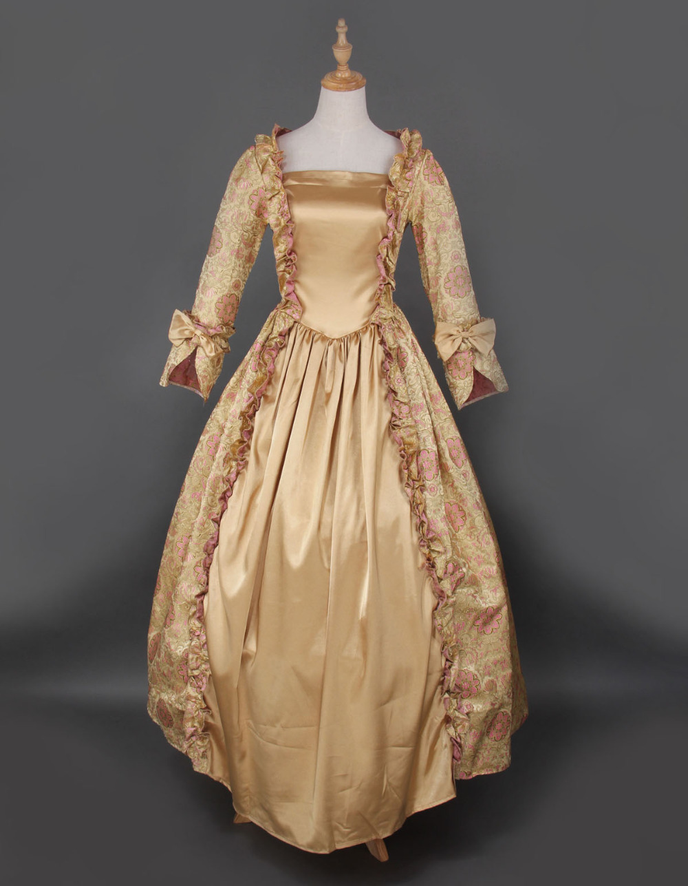 hot-global-freeshipping-18th-century-rococo-font-b-style-b-font-gown-font-b-marie-b