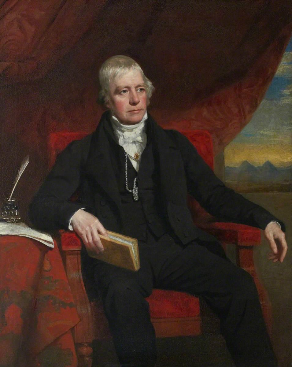 Graham-Gilbert, John, 1794-1866; Sir Walter Scott (1771-1832), Bt, FRSE