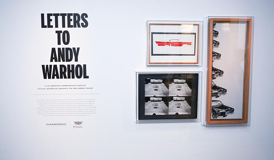 выставка писем Энди Уорхола