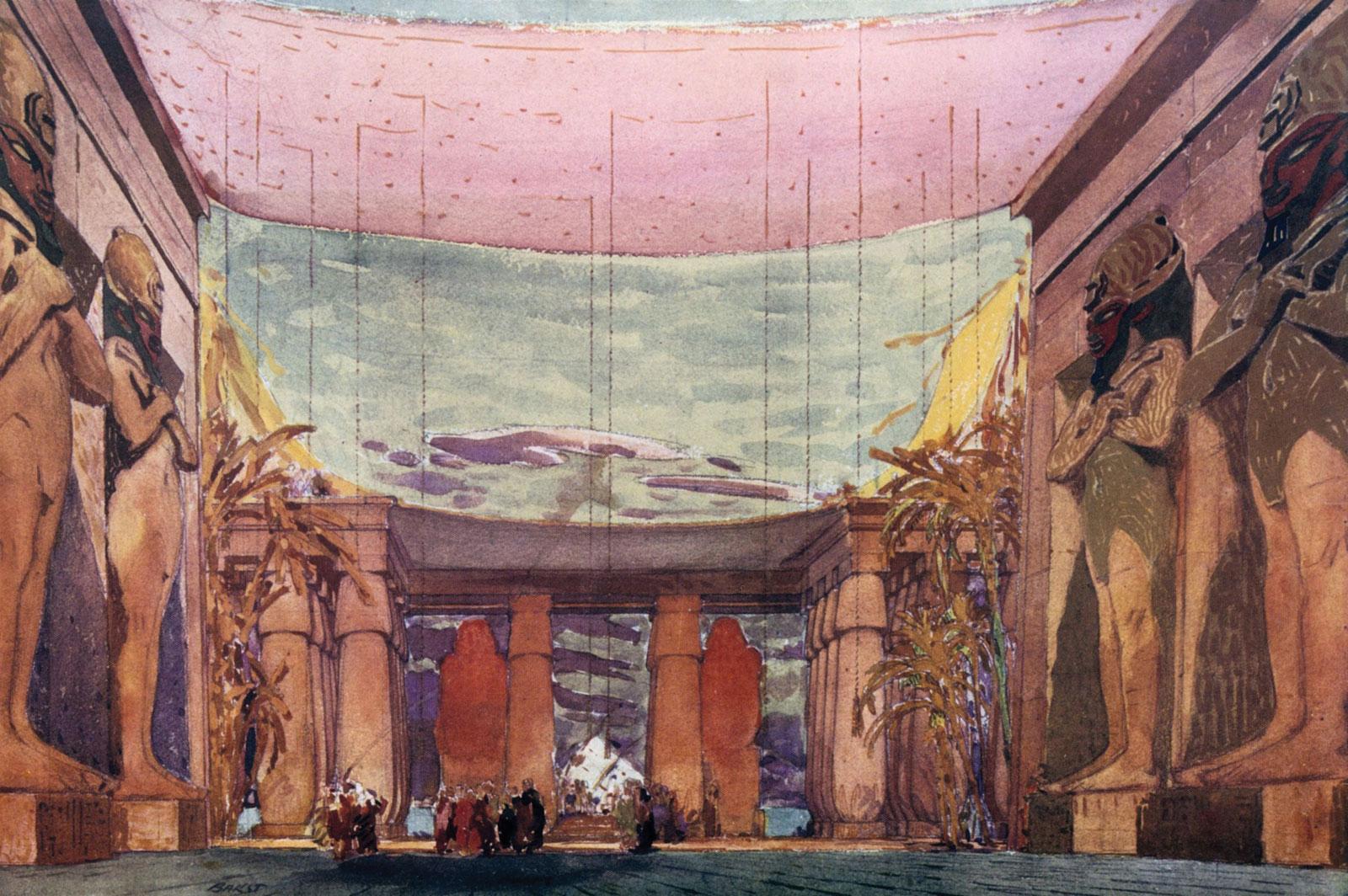 eskiz-dekoratsij-k-baletu-kleopatra
